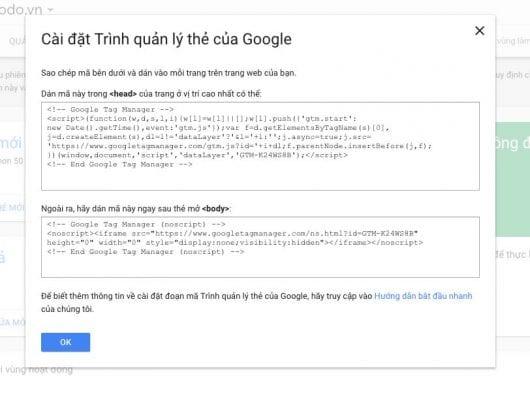 Google Tag Manager là gì