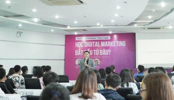 """Buổi Gặp Gỡ Của SEODO Agency Với Các Marketer Trẻ Trong Talkshow """"HÀNH TRÌNH MARKETER"""""""