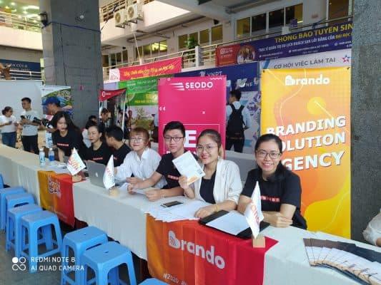SEODO Agency Tham Dự Ngày Hội Việc Làm Đà Nẵng Tại Đại Học Duy Tân